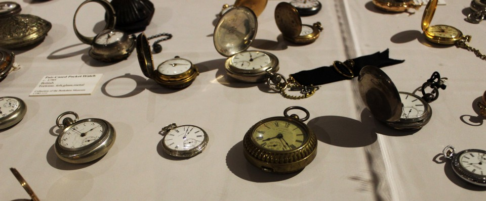 Pocket Watches from Objectify Exhibit at Berkshire Museum