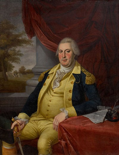 Charles Wilson Peale, Portrait of General David Forman