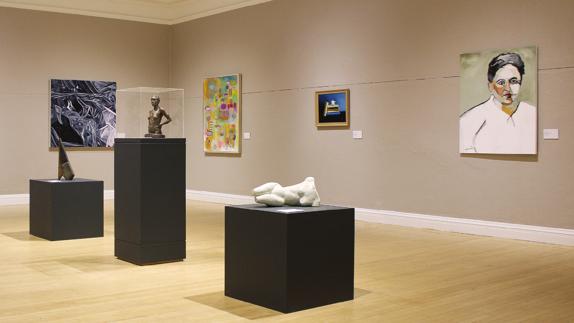 Sculptures and paintings on display in 2018's Art of the Hills exhibit