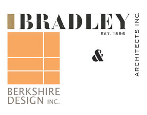 Logo: Bradley Architects, Inc, Est. 1896 & Berkshire Design Inc.